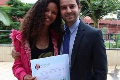 Luana Rayane Dias acompanhou os vereadores Reinaldo Lacerda e Neidson Freitas