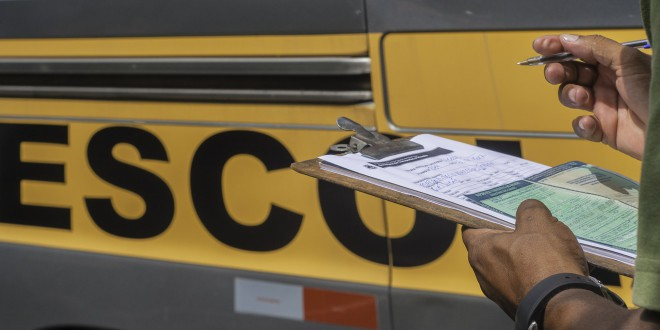 Prefeitura inicia vistoria do transporte escolar