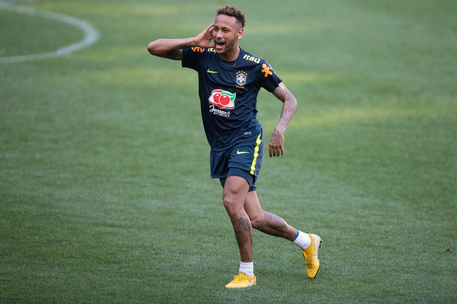 6cb5523a99 SELEÇÃO BRASILEIRA – Neymar será o capitão contra os EUA no 1º jogo ...