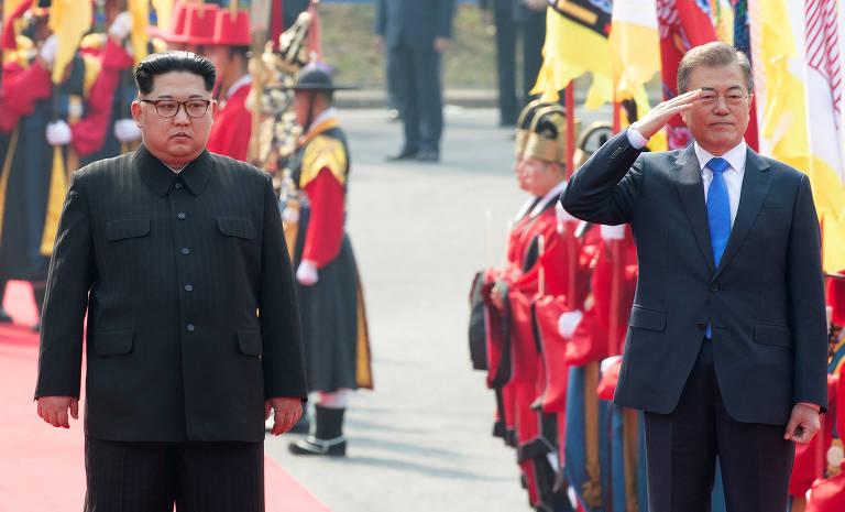 PAZ NA PENÍNSULA COREANA – Coreias do Norte e do Sul negociam desarmamento na fronteira