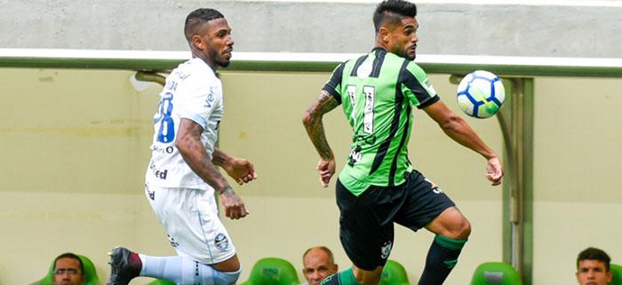 América sai na frente, mas cede empate aos reservas do Grêmio e é vaiado no Independência