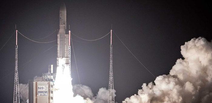 Foguete decola com sondas espaciais para desvendar segredos de Mercúrio