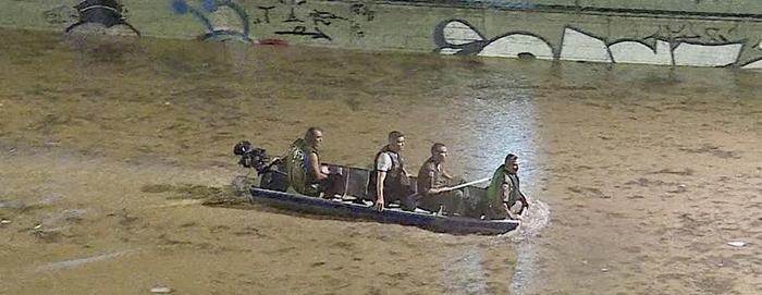 Buscas por jovem desaparecido em alagamento na Vilarinho entram no 4º dia