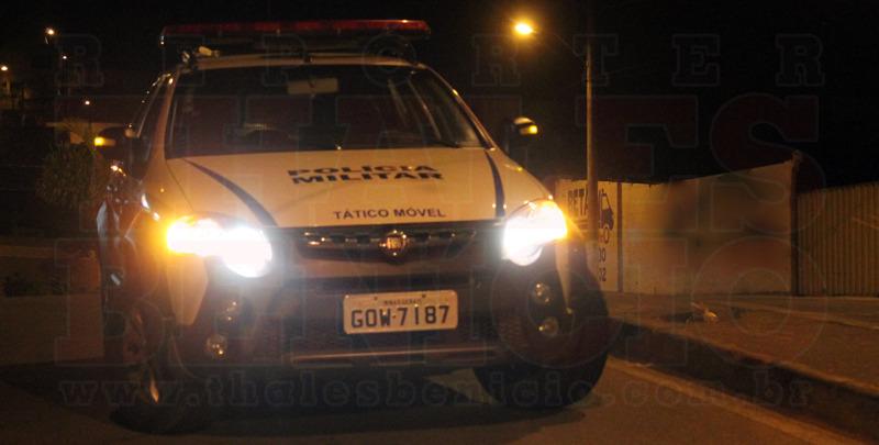 SANTA BARBARA – Policia Militar prende homem por tráfico de drogas e porte ilegal de arma de fogo