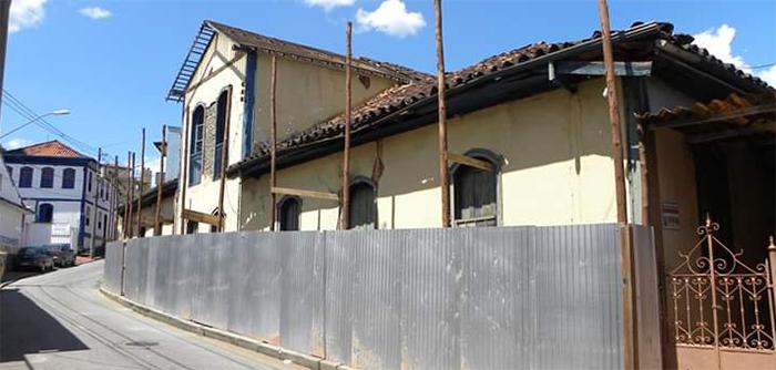 CENTRO HISTÓRICO – Sobrado do armazém Sampaio passa por reformas