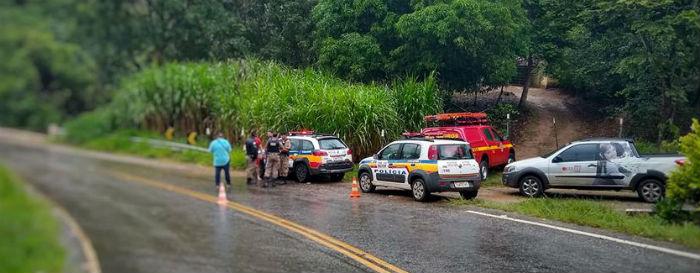 Casal morre afogado após acidente em ponte entre Ipoema e Bom Jesus do Amparo