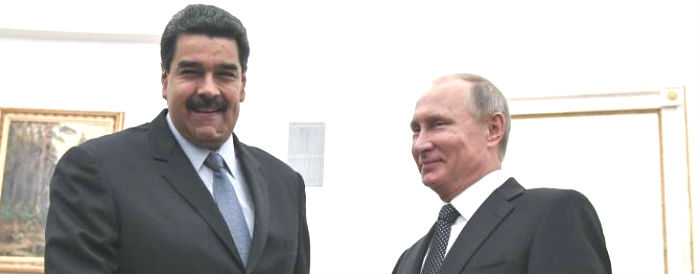 Na batalha das doações, Maduro recebe ajuda da Rússia