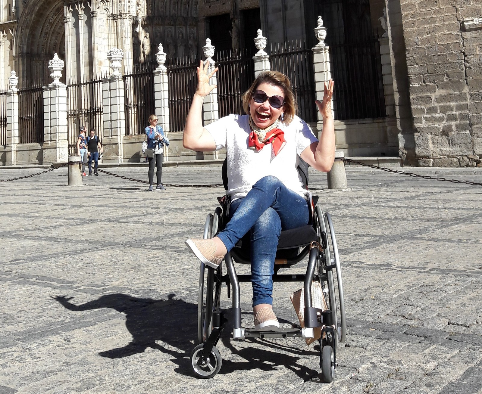 ROMPER BARREIRAS – Cadeirante faz diário de viagens para inspirar deficientes a conquistar autonomia
