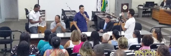 Audiência Pública lista reivindicações de servidores municipais da Itaurb