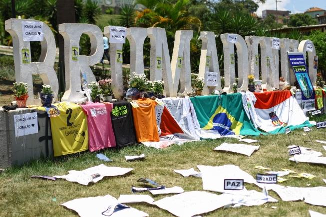 Vítimas de barragem em Brumadinho celebram a Páscoa em igreja que serviu de apoio a desabrigados