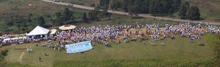 Serra da Moeda, em Brumadinho, será palco de protestos neste domingo