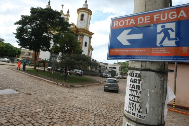 Crise de pânico e depressão refletem temor de rompimento de barragem em Barão de Cocais