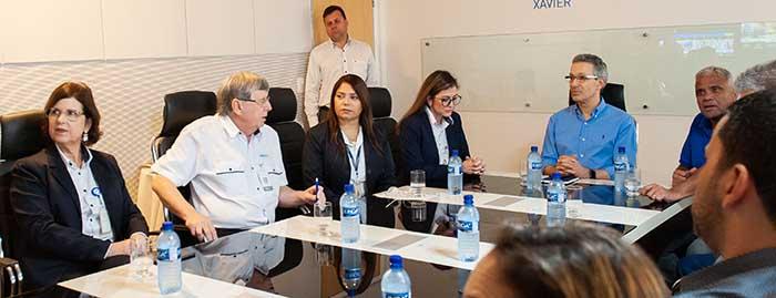 IPATINGA – Hospital Márcio Cunha recebe visita do governador de Minas