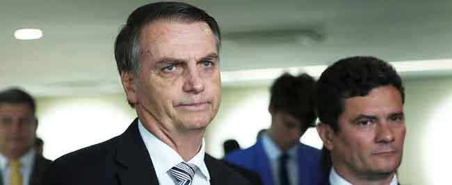Presidente Jair Bolsonaro mantém Sérgio Moro na fila do Supremo Tribunal Federal
