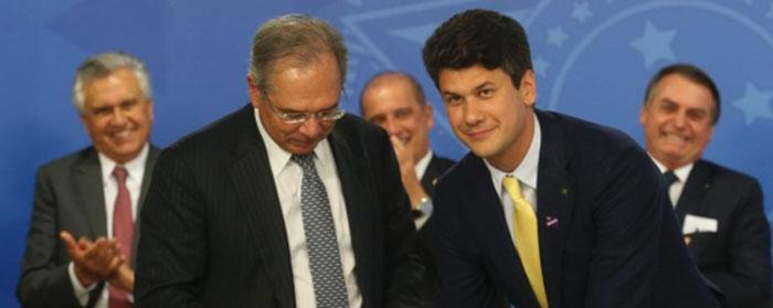 Gustavo Montezano toma posse na presidência do BNDES