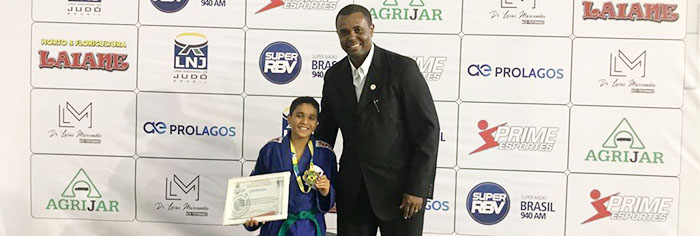 Judoca itabirano conquista o terceiro lugar no Brasileiro