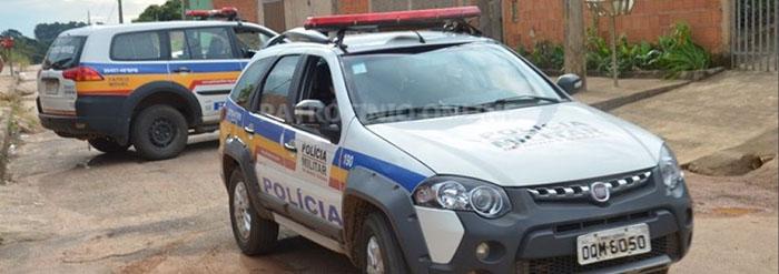 Policia Militar prende homem armado com espingarda no bairro Santa Ruth