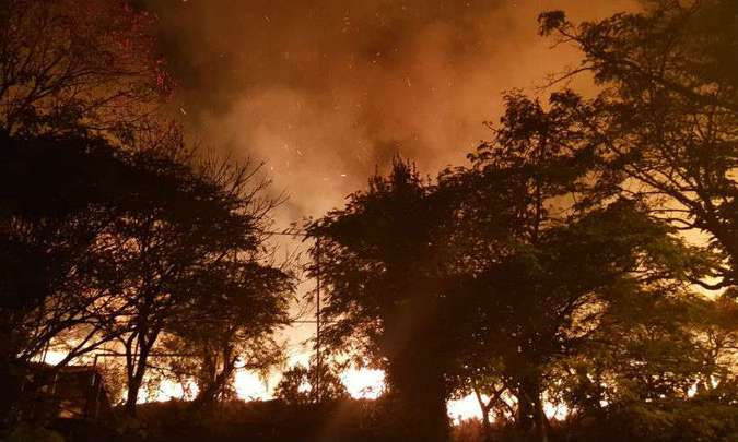MEIO AMBIENTE – Quatro estados pedem ajuda das Forças Armadas para combate a incêndios