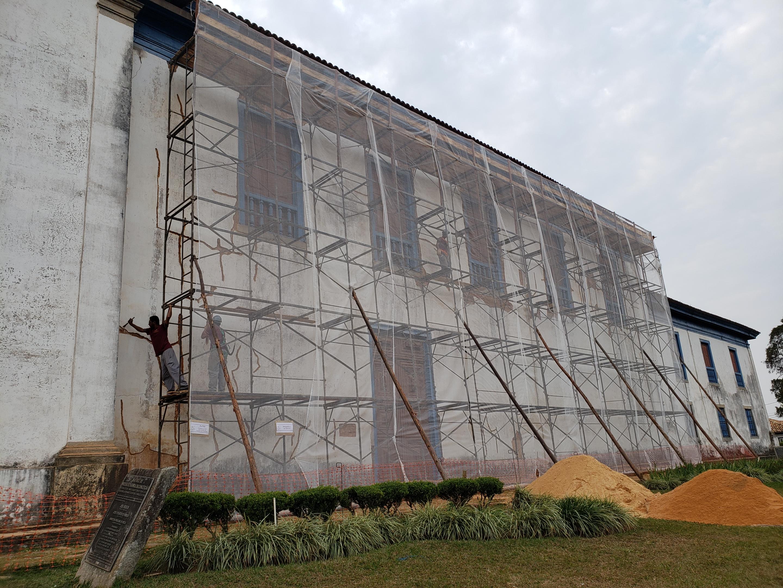 PRESERVAÇÃO – Igreja Matriz de Nossa Senhora da Conceição em Catas Altas será reformada