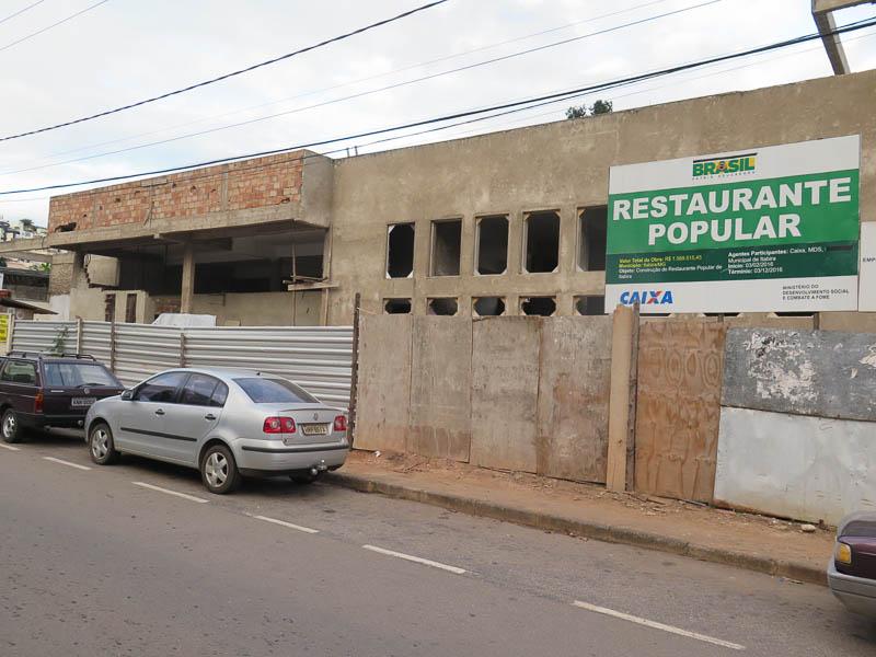 Secretaria de Agricultura deve ocupar prédio do restaurante popular em setembro