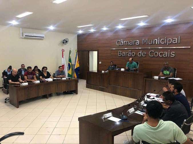 POLÍTICA – Vereadores de Barão de Cocais querem aumentar o próprio salário para mais de R$7 mil