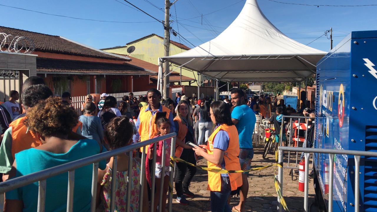 BARRAGENS – Milhares de pessoas cumprem simulado proposto pela Defesa Civil e mineradora Vale em Itabira