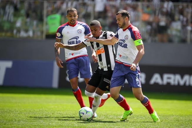 BRASILEIRÃO – Deu ruim: com os reservas, Atlético perde para o Bahia e vê invencibilidade cair no Horto