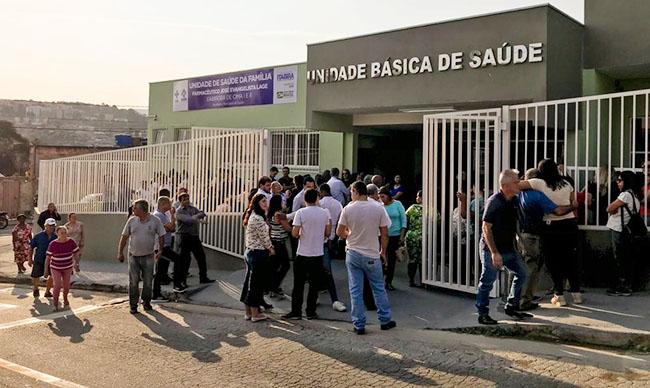 SAÚDE – Prefeitura inaugura UBS no bairro Gabiroba