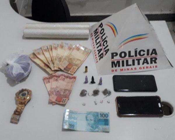 ITABIRA – PM apreende menores por trafico de drogas no bairro Bela Vista